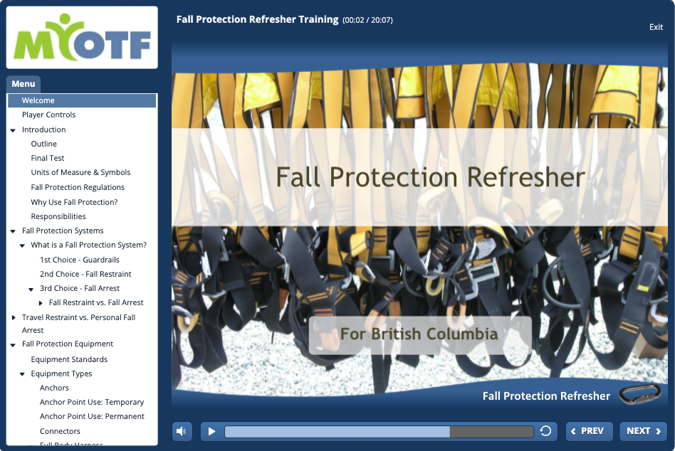 Fall Protection Refresher (BC)