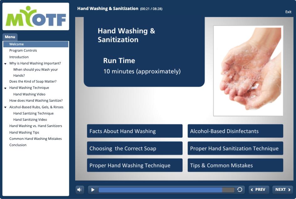Hand Washing & Sanitizing