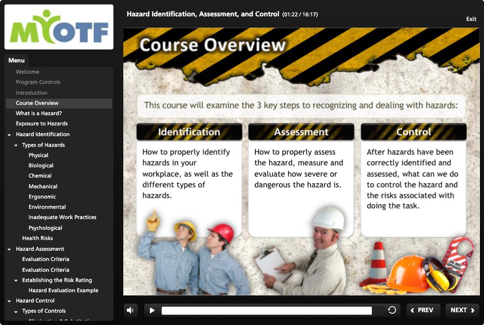 Hazard Identification, Assessment & Control