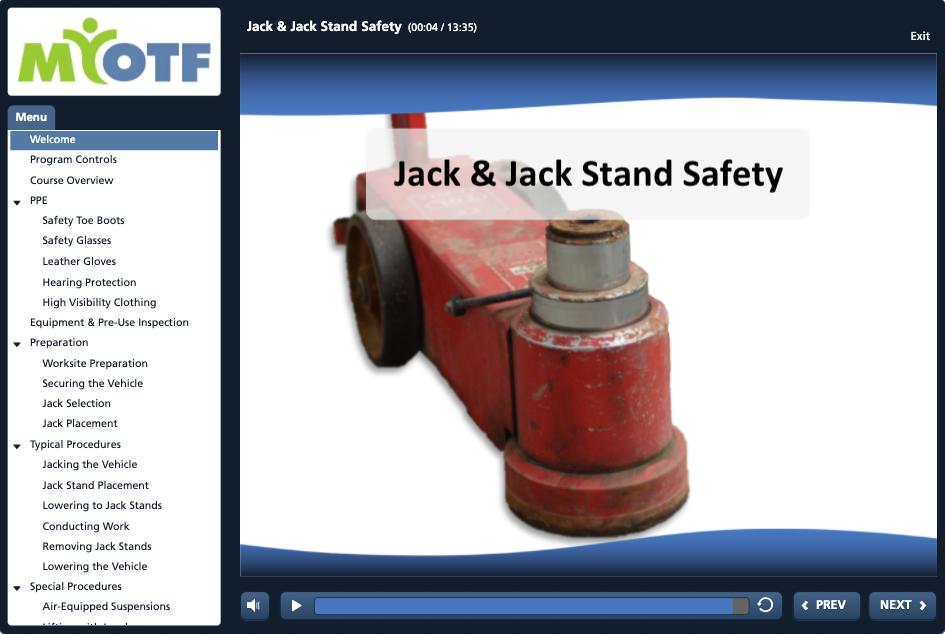 Jack & Jack Stand Safety