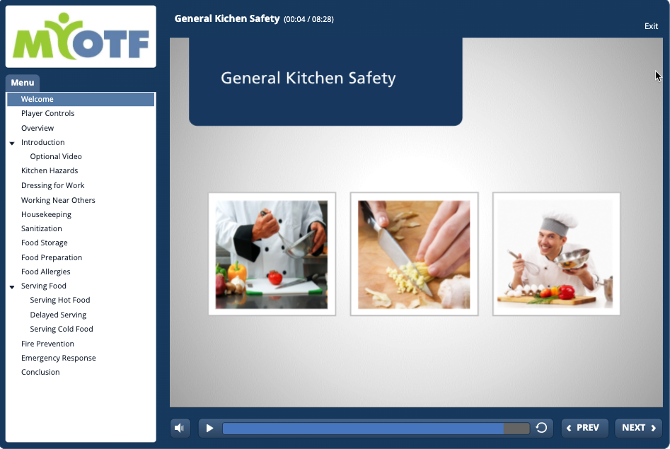 Commercial Kitchen Safety