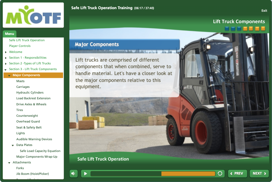 Safe Lift Truck Operation