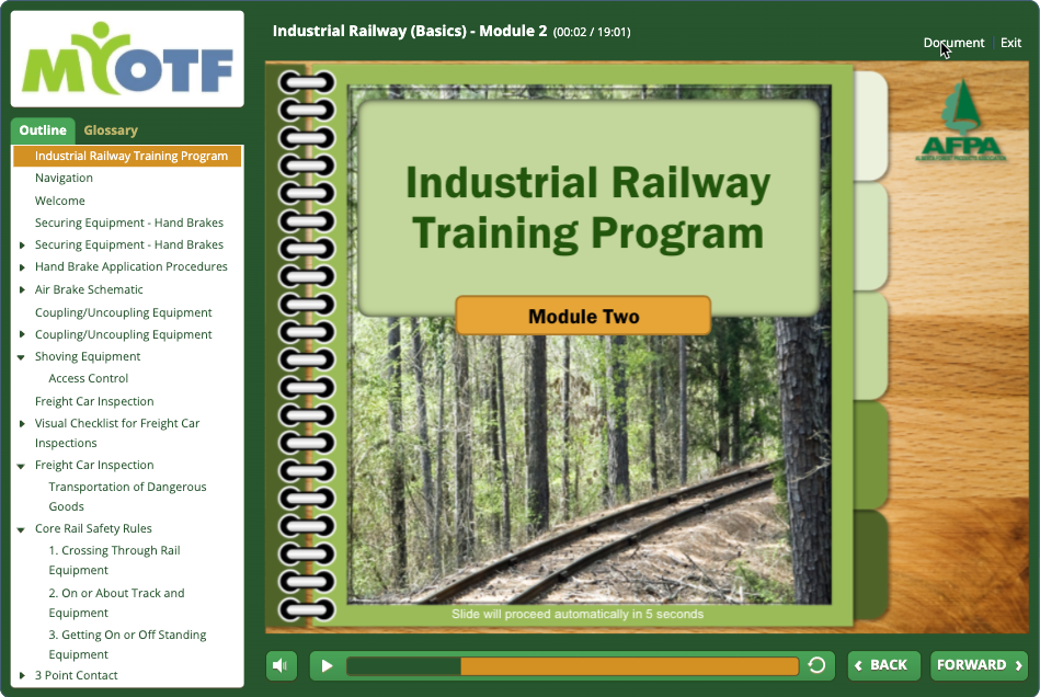 Industrial Railway Training