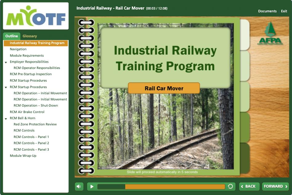 Industrial Railway (Rail Car Mover)