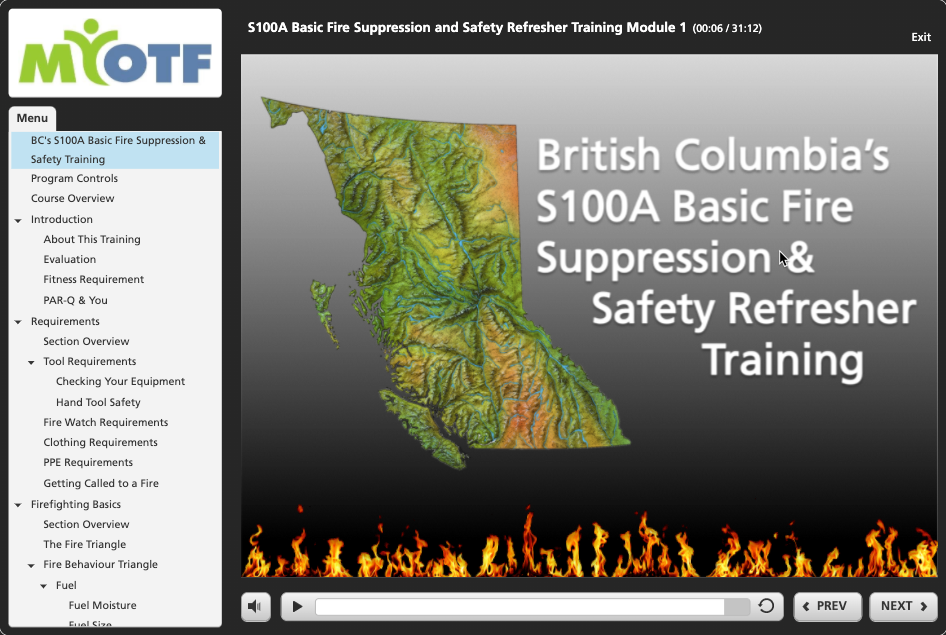 S100A: Annual Refresher Training