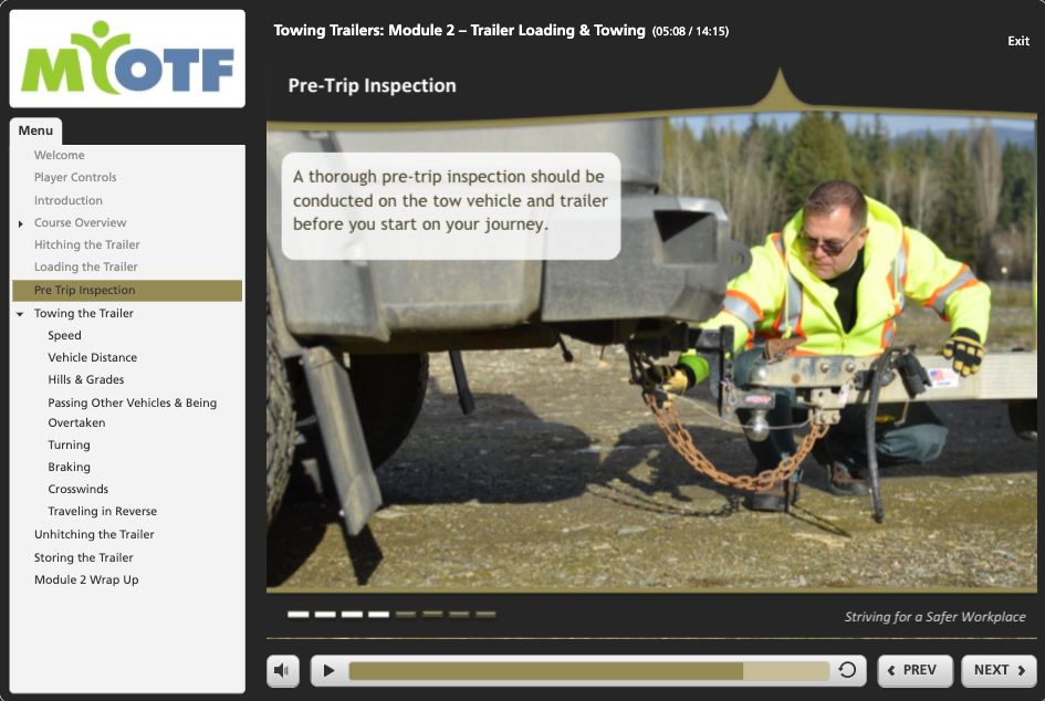 Towing Trailers: Module 2 – Trailer Loading & Towing